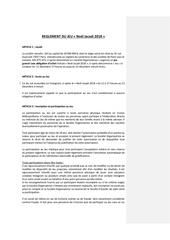 reglement jeu concours noel jacadi 2018