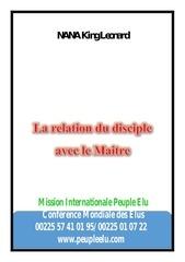 Fichier PDF la relation du disciple et son maitre