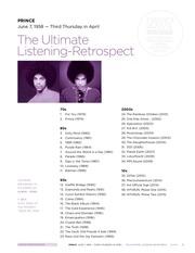 prince lyrics