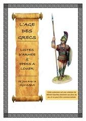 age des grecs