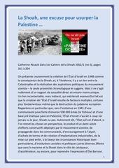 Fichier PDF catherine nicault dans les cahiers de la shoah 2002