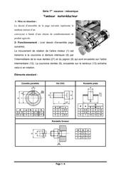 serietambour  motoreducteur