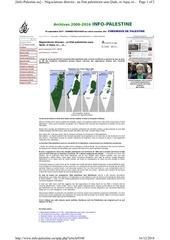 usurpation de la palestine