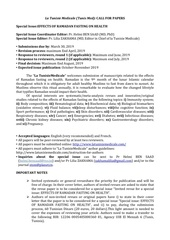 Fichier PDF call for papers tunisie medicale 1