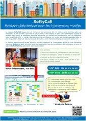 Fichier PDF softycall le logiciel de pointage par telephone