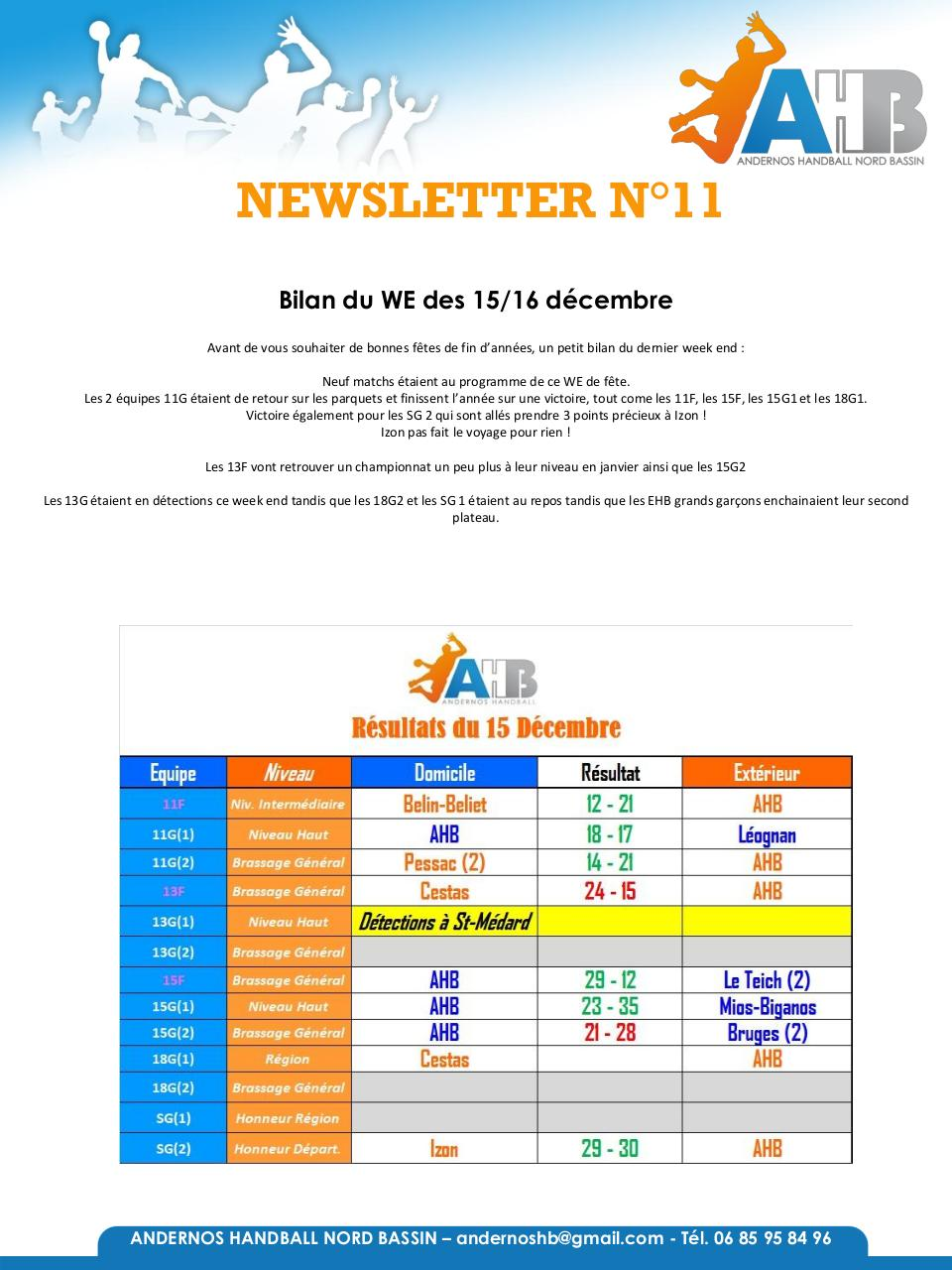 Newsletter 2018-2019 N°11.pdf - page 1/22