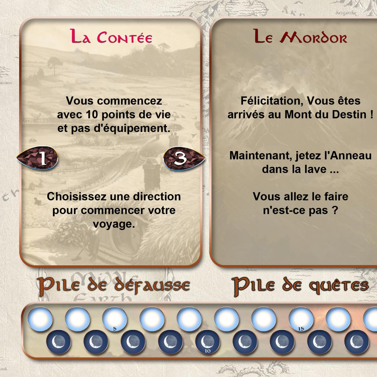 Aperçu du document Lord of the Rings - The Adventure deck game - Playmat.pdf - page 1/4