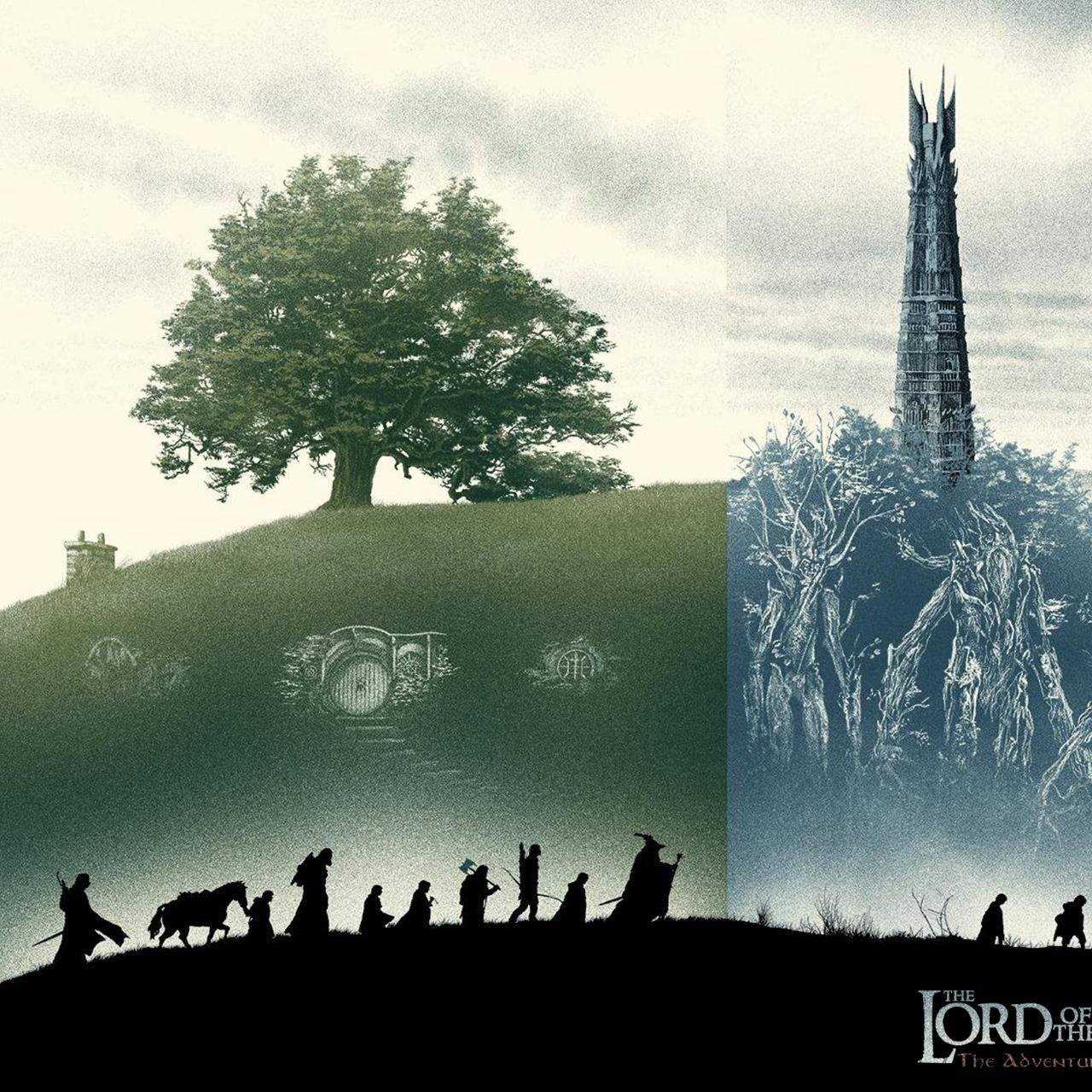 Aperçu du document Lord of the Rings - The Adventure deck game - Playmat.pdf - page 3/4