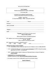 bulletin dinscription 2