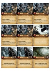 lord of the rings   the adventure deck game   cards