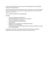 Fichier PDF offre structure