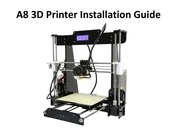 a8 3d printer installation instructions