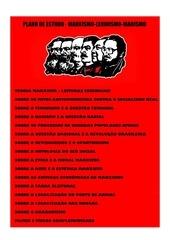 plano de estudo   marxismo leninismo maoismo