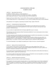 reglement concours bonne annee 2019 le depot canap