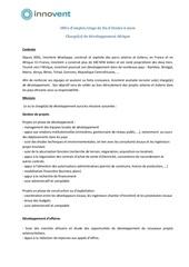Fichier PDF fiche de poste charge de developpement afrique