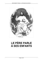 messages de dieu le pere