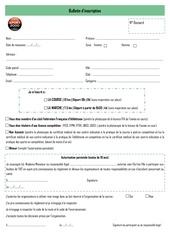 bulletin inscription foulees iut 2019 pdf