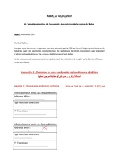 draft explications sur anomalies cdg 2
