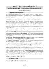 fiche methodo janvier 2019