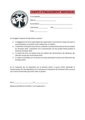 charte dengagement