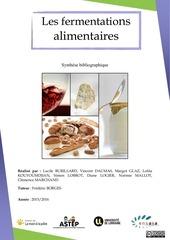 cours les fermentations alimentaires