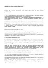 Fichier PDF entretien dr levesque