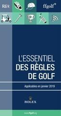 regles golf 2019 essentiel