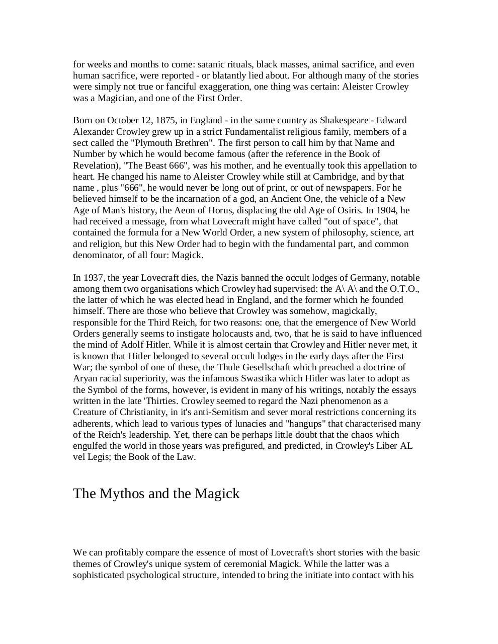 The Complete Necronomicon Part I par Wolff King Morrow