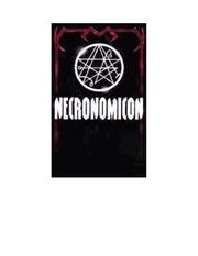Fichier PDF necronomicon