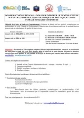 dossier d inscription c2e lycee condorcet 2 osq 2019 2020
