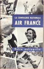 livret de bienvenue air france 1955