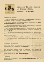 charte concours photo