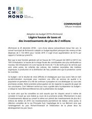 Fichier PDF communique budget 20192018 12 20