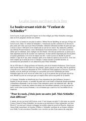 Fichier PDF la liste de schindler
