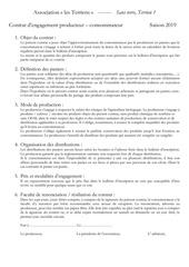 contrat dengagement contrat recto