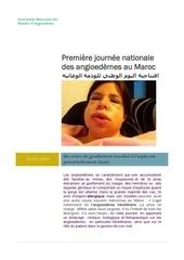 journee des angioedemes au maroc 1