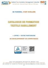 catalogue de formation cpfmi   textile habillement
