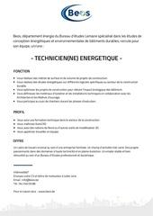 Fichier PDF offre beos technicien energetique
