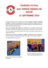 article tournoi futsal 2019 2