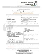 conditions de participationrpje