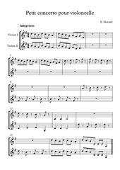 violons 1et2 allegretto
