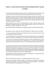 lettre pour lhumanite   climat   mehdi tarik