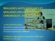 maladies auto immunes