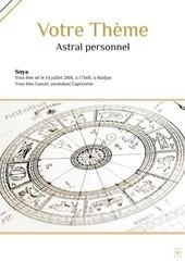 votre theme astral personnel 6