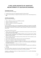 Fichier PDF recrutement assistant recrutement ong alima