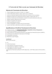 Fichier PDF recrutement assistante de direction universite de thies