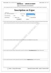 serie 02 formulaire  evenements    inscription en ligne