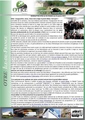news otre idf 25 janvier 2019