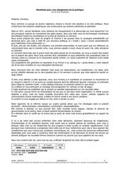 manifeste du grede 25 janvier 2019
