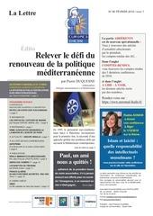 lettre euromed ihedn n 85   fevrier 2019